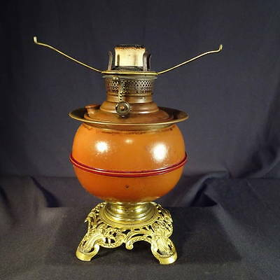 1880's Bradley & Hubbard Kerosene Oil Banquet or Table Lamp