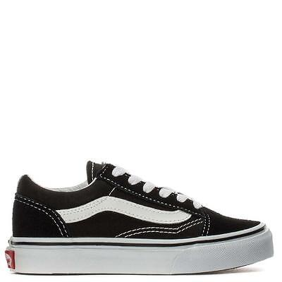Vans Kids Old Skool Black/white Classic Skate 0W9T6Bt Fast Shipping