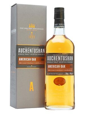 Auchentoshan American Oak Single Malt Scotch Whisky 700mL