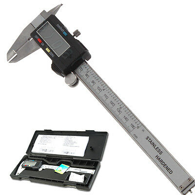 6inch 150mm LCD Digital Electronic Gauge Vernier Caliper Micrometer Measurement
