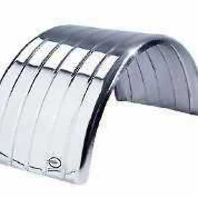 Lelox Mudguard Stainless Steel With Grooves (Ss11S1Nc) Or No Grooves S/s