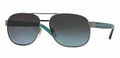Genuine BURBERRY 3083 Sunglasses Replacement Lenses - Polarised Blueish GREY