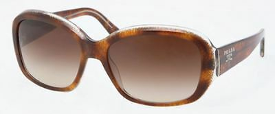 Genuine PRADA PR 31NS Sunglasses Replacement Lenses - Gradient Brown