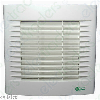 Airvent 435103 Axial Extractor Fan with Shutter & Pullcord - 150mm  6 Inch