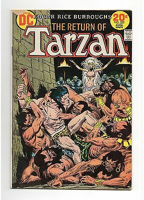 Tarzan Vol 1 No 222 Aug 1973 (VG+), DC, Bronze Age (1970 - 1979)