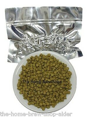 Goldings Hop Pellets 2x100g=200g- Foil Vacuum Packed - Home Brewing - Dried Hops