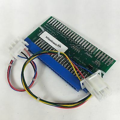 Galaga/Mappy/Pac-Land PCB to JAMMA cabinet adapter - MikesArcade
