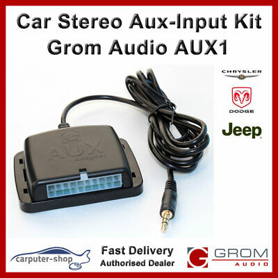 GROM Audio AUX1 Aux-Input kit for 2002-05 CHRYSLER DODGE JEEP CHEROKEE LIBERTY