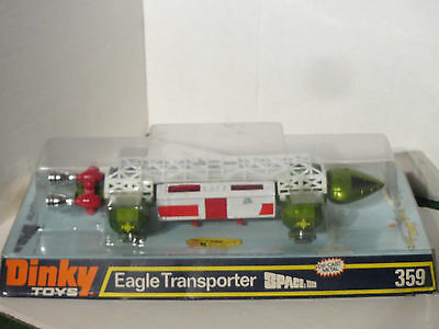 Dinky Toys No 359 Eagle Transporter - Boxed Gerry Anderson
