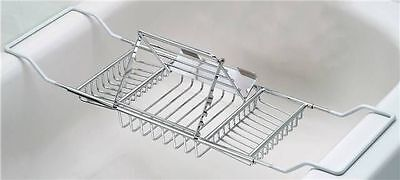 Taymor 02-DR8590 BATHTUB CADDY WITH ADJUSTABLE READING RACK plateau de lecture