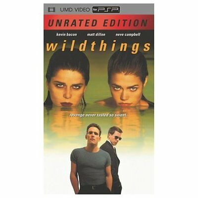 Wild Things 1998 Unrated UMD For PSP 3E