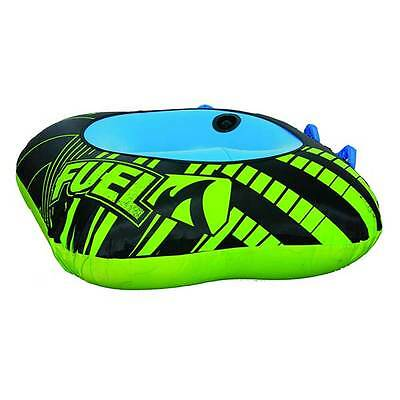 Fuel Vegas 1 Person Towable Ski Tube Inflatable Biscuit Boat Ride