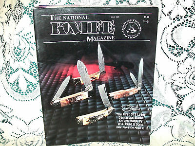 National Knife 5/1989~Case 512 Layer Damascus~Kinloch Jungle Knife~Roman Clasp