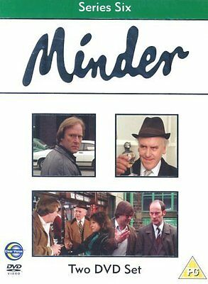 Minder Complete 6th Series Dvd George Cole Brand New & Factory Sealed