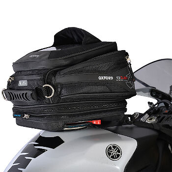 Oxford Q15R Quick Release Motorcycle Motorbike Luggage Tank Bag