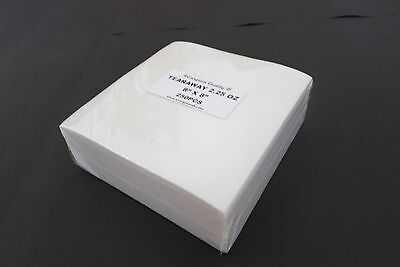 500 sheets Tear Away Embroidery Stabilizer/Backing! 8x8 FREE Shipping! BIG SALE!