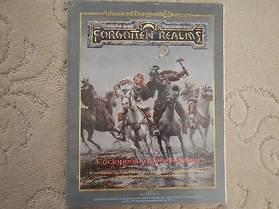1987 Advanced Dungeons & Dragons. Forgotten Realms Cyclopedia (First Edition)