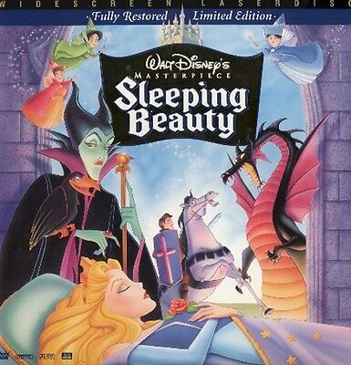 Sleeping Beauty Disney's Masterpiece Ws Cc Ac3 Thx Clv Ntsc Laserdisc