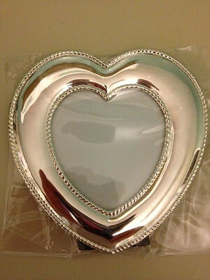 Lenox Gorham Silverplated Heart Picture Frame - Brand New In Box
