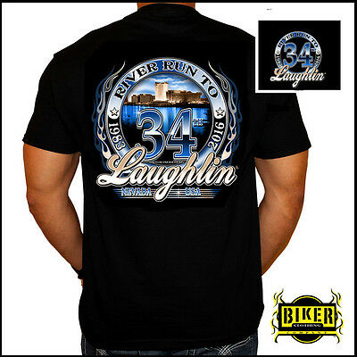 Official Laughlin River Run 2016, River T-Shirt (L)