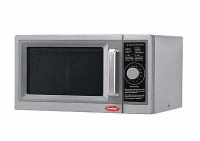 General GEW1000D Commercial  100 Watts Digital  Microwave Oven Dial Control  RFB