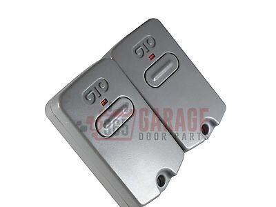 2 pack GTO/Mighty Mule RB741 Gate Opener Remote Transmitter (Default)
