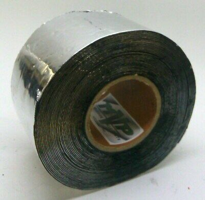 """4"""" x 50' Roll of Aluminum Foil Tape with Butyl Rubber Backing 47 Mil Thick"""