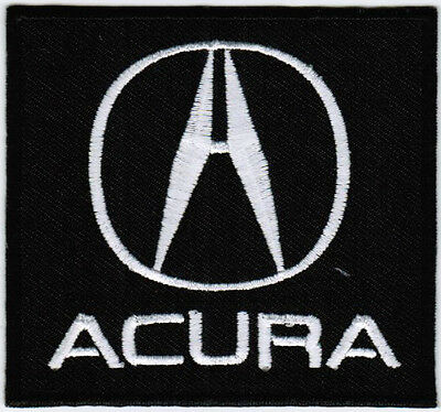 Honda Acura Motor Company Automaker Car Racing Badge Iron On Embroidered Patch