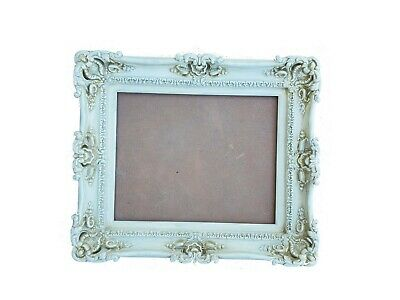 20x24 white frame - shabby chic frames for pictures art canvas or mirror