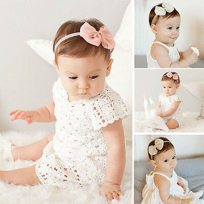 Kids Baby Girl Toddler Infant Bowknot Headband Hair Band Headwear Headwrap  New