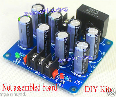 Dual Power Rectifier Filter Board DIY Kits For LM3886 TDA8920 TDA7293 Amplifier