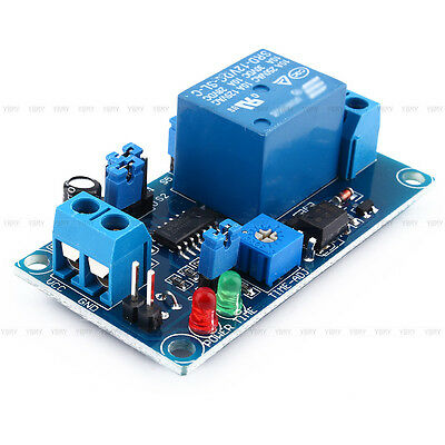 Newest 12V DC Delay Relay Delay Turn on/Delay Turn off Switch Module with Timer