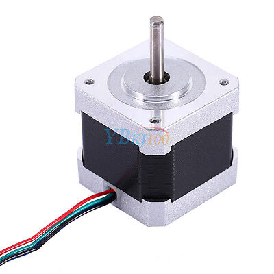 US 42mm 1.8 Degree NEMA17 2 Phase 4-wire Stepper Motor For 3D Printer CNC Robot
