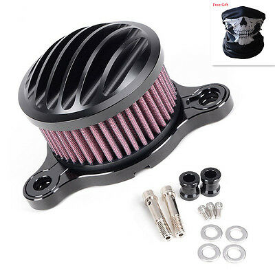 Air Cleaner Intake Filter & MASK for (2004-2014) Harley Sportster XL 883/1200