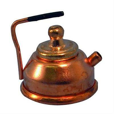 1/12th Scale Dolls House Copper Kettle D007