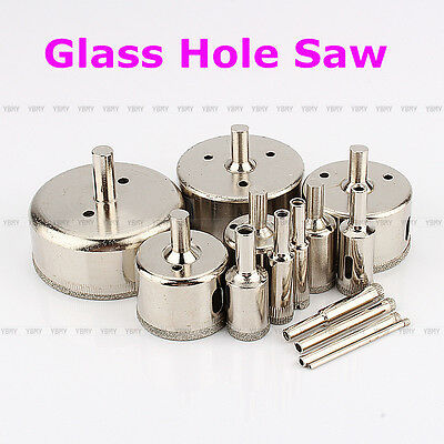 New 6mm-60mm Diamond Hole Saw Glass Tile Granite Marble Core Drill Bits Tools