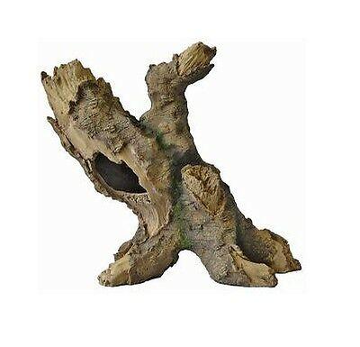 Tall Tree Fish Cave Aquarium Ornament Hollow Trunk Fish Tank Wood Decoration