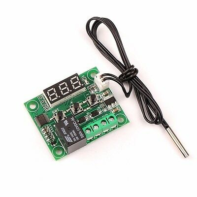 W1209 Temperature Controller Thermostat DC 12V NTC 10K Probe Relay