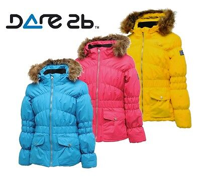 Dare2b Enchanting Girls Waterproof Breathable Insulated Ski Jacket
