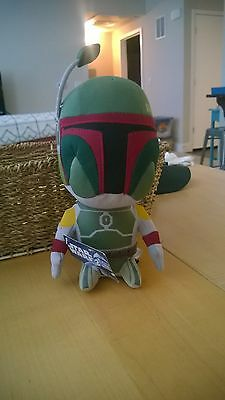 Boba Fett stuffed figure (new w/tags)