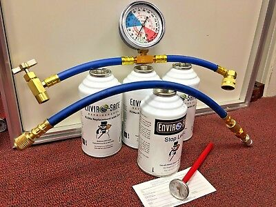 Enviro-Safe Modern Refrigerant, R12 & R134a Replacement A/C Kit, New R-12 R134a