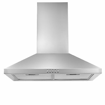 Cookology CMH605SS 60cm Chimney Cooker Hood in Stainless Steel | Extractor Fan