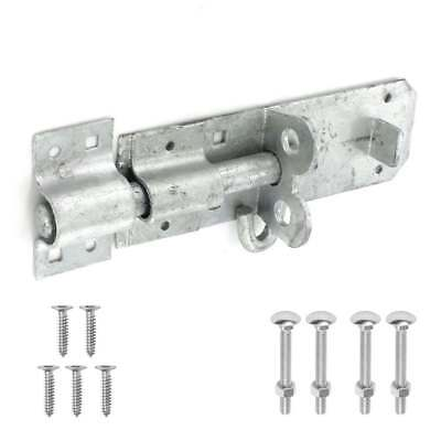 Gate Lock PADBOLT Brenton Heavy Duty Security Shed Door Slide Bolt GALVANISED