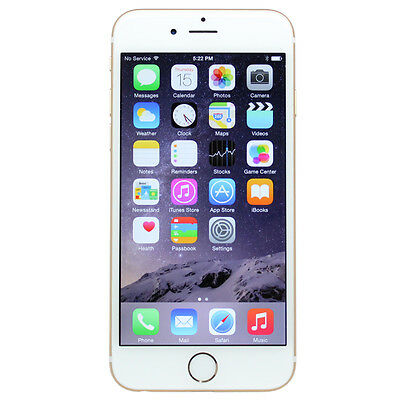 Apple iPhone 6 + Plus 16GB Silver GSM 4G LTE Factory Unlocked Smartphone LN