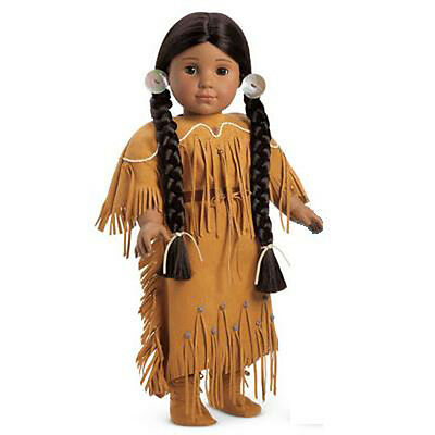 "American Girl KAYA DOLL NO BOOK 18"" Doll Native Indian Historical NEW in Box"