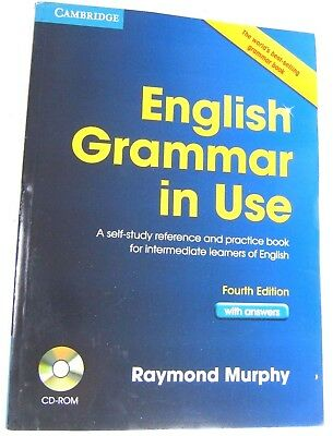 CAMBRIDGE English Grammar in Use for intermediate forth Edition with answers New