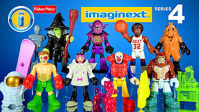 Fisher Price IMAGINEXT Blind Bag - Get the one you want - Series 4 Unopened!