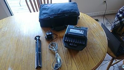 Stentura 200 SRT stenomachine with tripod, case and adapter  barely used