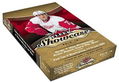 Upper Deck 2015-2016 NHL Fleer Showcase Hockey Display
