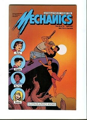 Mechanics 2 of 3 . Fantagraphics  .1985 -  FN +